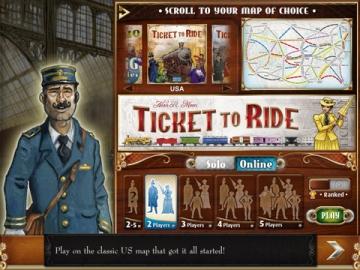 Ticket to Ride voor iPad