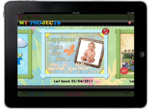 My Scrap Life plakboek voor de iPad