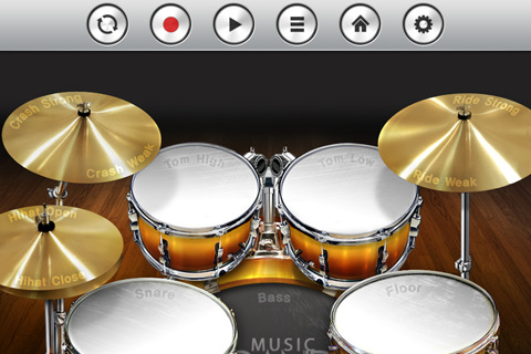 iPad Touch Band drumstel