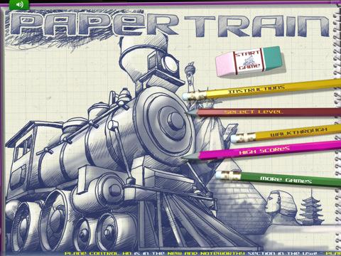 Paper Train HD voor de iPad
