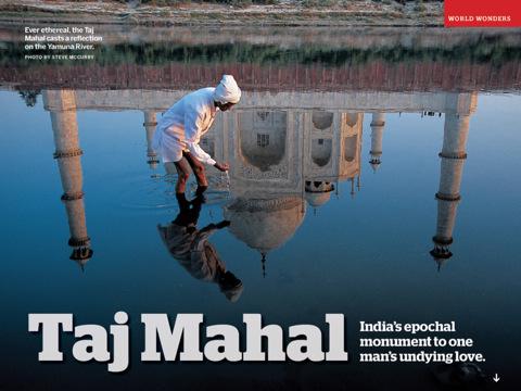 50 mooiste plekken voor de iPad Taj Mahal