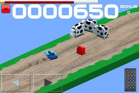 DI GU Cubed Rally Racer voor iPhone