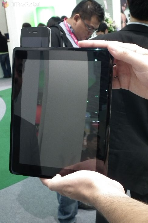 ECS tablet met uitstekende iPhone 4