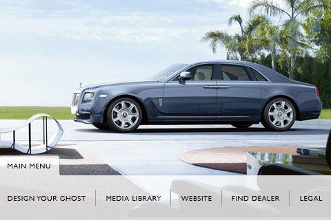 Rolls-Royce Ghost app