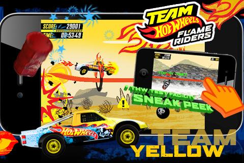GU VR Team Hot Wheels Flame Riders