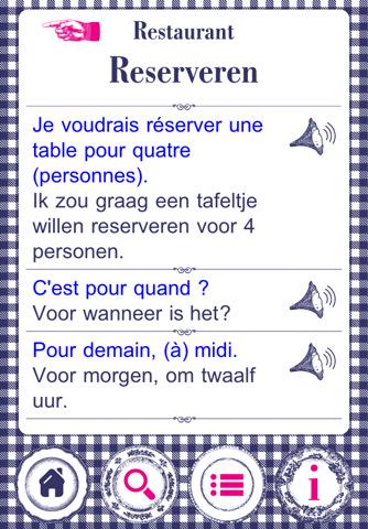 culinair frans app
