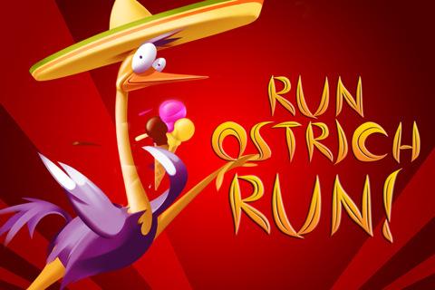GU DI voorplaat Run Ostrich Run