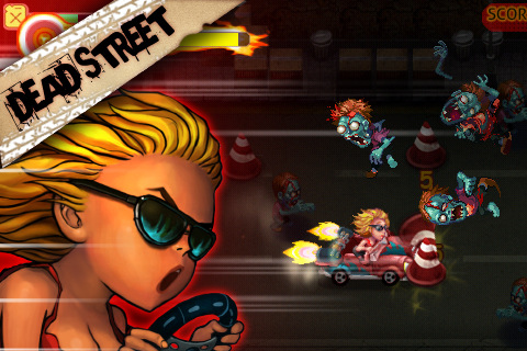 MA GU Dead Street voor iPhone en iPod touch