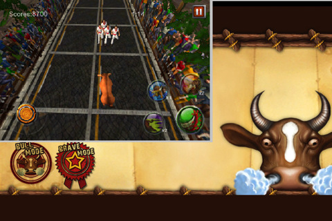 GU VR Burning Bull voor iPhone en iPod touch