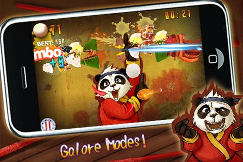 GU WO KungFu Food-Panda voor iPhone en iPod touch