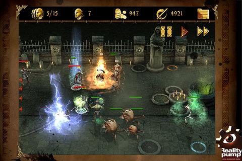 GU DI Two Worlds II Castle Defense voor iPhone en iPod touch