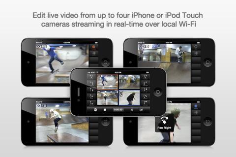 CollabraCam iPhone video editing tool