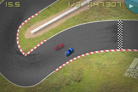 GU VR Pocket Racing voor iPhone en iPod touch