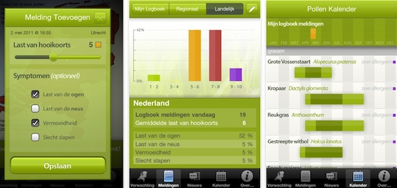 pollennieuws iphone