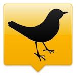 Tweetdeck voor iPhone en iPod touch logo