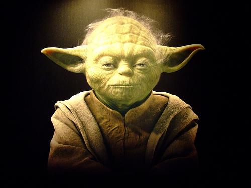 MA GU Star Wars Yoda voor iPhone en iPod touch