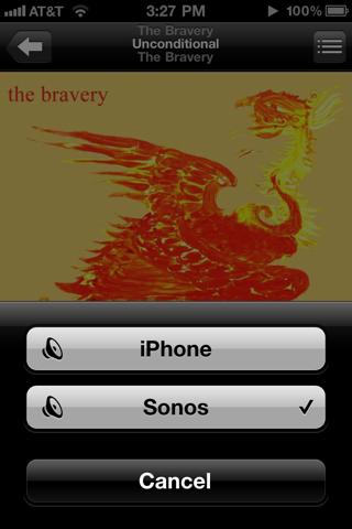 AirPlay van iPhone naar Sonos