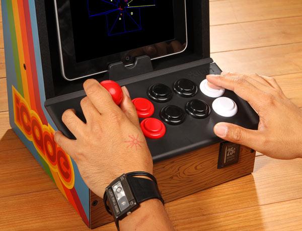 iCade spelen op de iPad