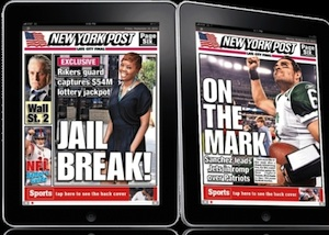 new york post ipad