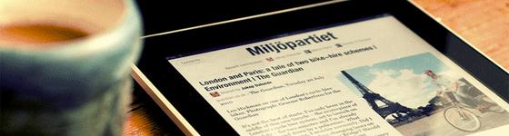 Kranten-en-magazines-op-de-iPad-in-de-lift