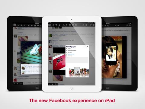 hello. facebook app