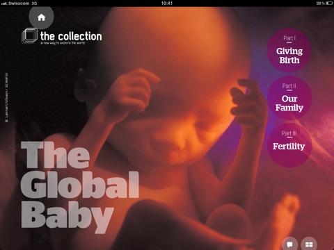 The Global Baby voor de iPad magazine