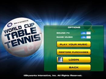 world cup table tennis ipad