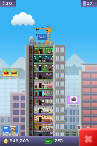 GU DI Tiny Tower iPhone iPod touch