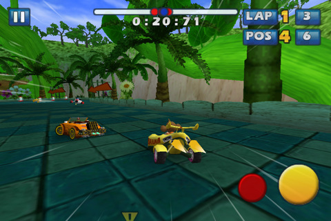 GU VR Sonic en Sega All-Stars Racing