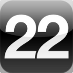 22Tracks app logo iPhone