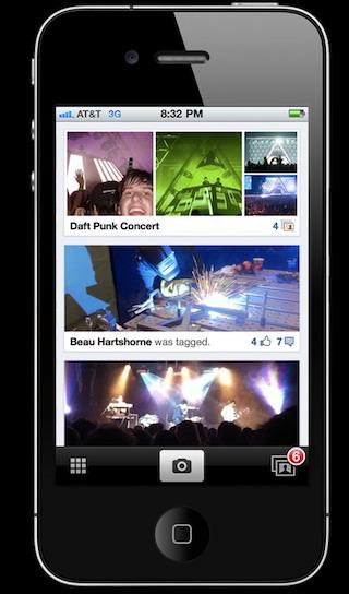 Facebook eigen foto app voor iPhone volledig
