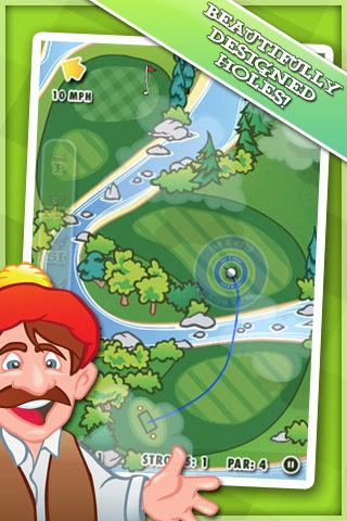 DI GU Par Out Golf voor iPhone iPod touch