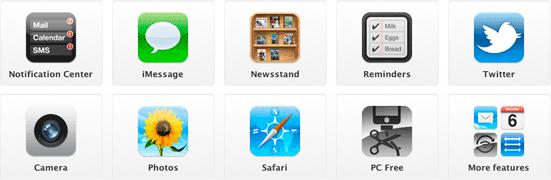 iOS 5 - nieuwe features