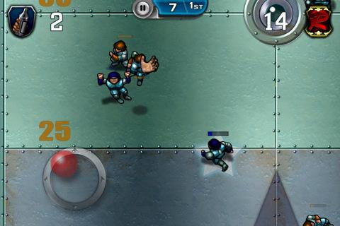 VR GU Speedball 2 Evolution voor iPhone iPod touch