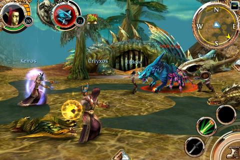 WO GU Order and Chaos Online voor iPhone