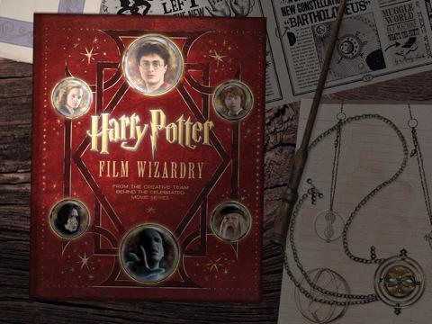 Harry Potter Film Wizardry iPad boek
