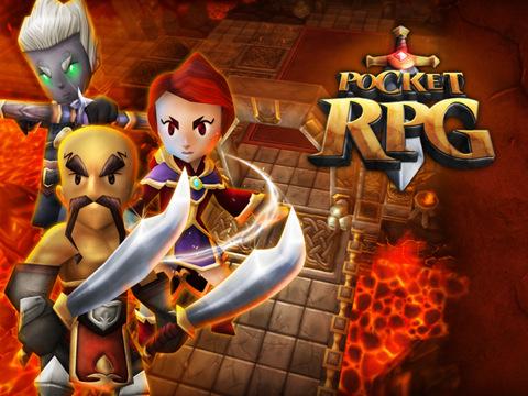 Pocket RPG is een actie-RPG op de iPad.