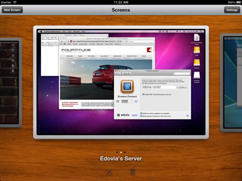 Screens heeft een update gekregen, waardoor de app alvast op Lion is voorbereid.