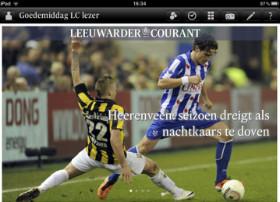 Leeuwarder Courant iPad app