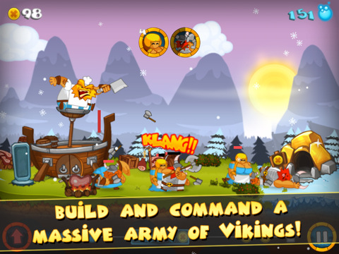 Swords and Soldiers HD iPad