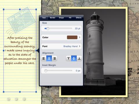 Met Skrappy stel je een plakboek samen op de iPad.