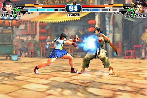 Makoto en Sakura doen na een update in Street Fighter IV Volt ook mee.