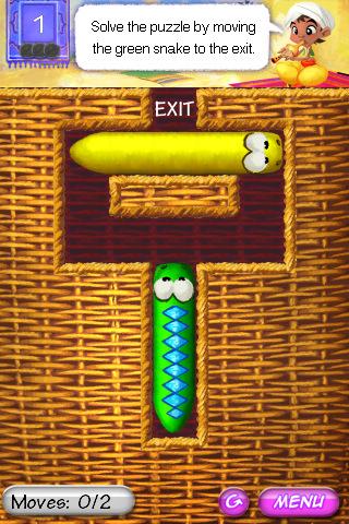 Snake Slider: wel slangen, geen Snake