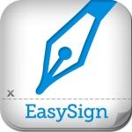 Met EasySign teken je pdf-documenten op je iPad.