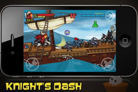GU WO Knight's Dash iPhone iPod touch