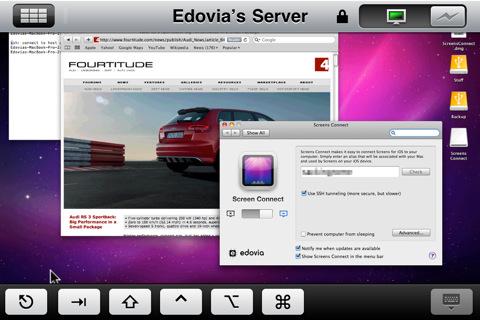 Screens is alvast klaargestoomd om te werken met Mac OS X 10.7 Lion.