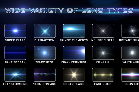 LensFlare iPhone effecten