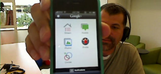 GooglePlus in handen ontwikkelaar