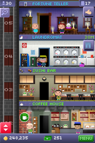 GU WO Tiny Tower iPhone iPod touch