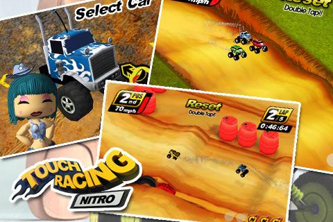 GU DI Touch Racing Nitro iPhone iPod touch